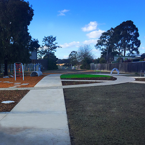 2019 Darebin Council Rona Park revamp