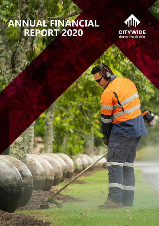 Citywide Annual Report 2020 cover image