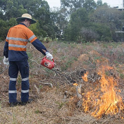 2021 04 26 Bayside controlled burn grid BRHS burn_6_
