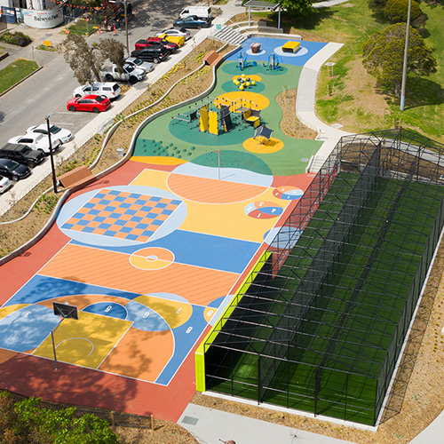 Citywide Balwyn Park Play Space grid