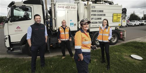 Citywide Female Drainage Team banner image