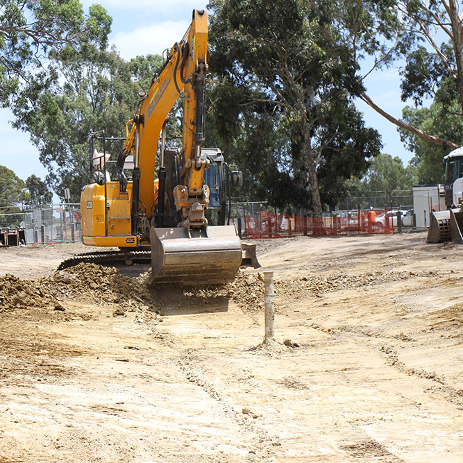 Citywide Civil Works Bundoora Park grid pic