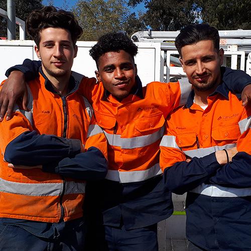 Citywide Mt Alexander College crew