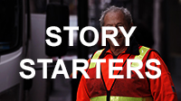 Story Starters button